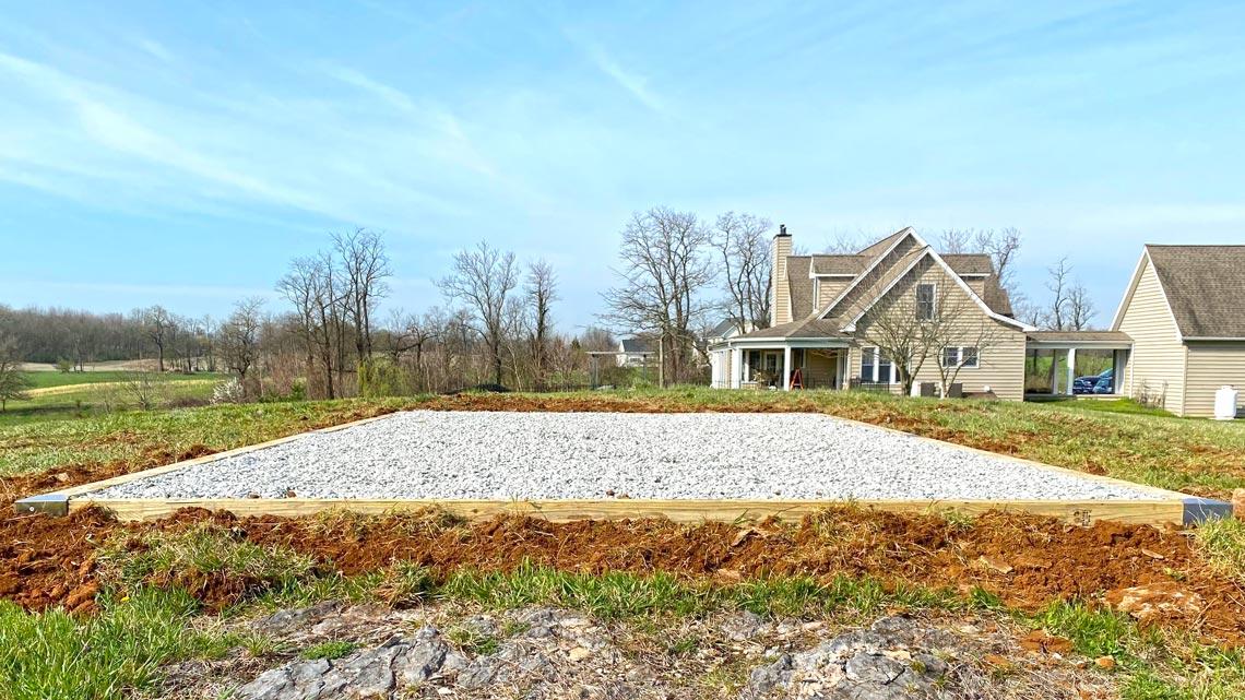 Elite stone base foundation